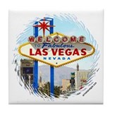 Las Vegas (day) Tile Coaster