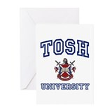 TOSH University Greeting Cards (Pk of 10)