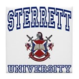 STERRETT University Tile Coaster