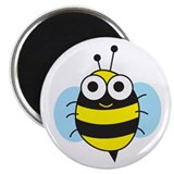 Bumble Bee 2.25&quot; Magnet (10 pack)
