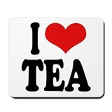 I Love Tea Mousepad