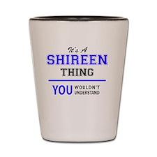 Cute Shireen Shot Glass