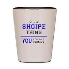 Cute Shqipe Shot Glass