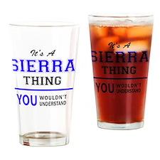 Unique Sierra Drinking Glass