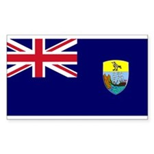 Saint Helena Flag Rectangle Decal