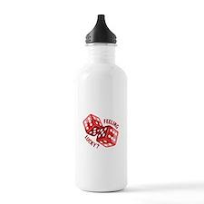Dice_Feeling_Lucky Water Bottle