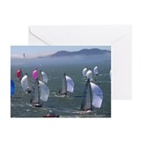fog city san francisco Greeting Cards (6)