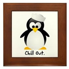 Chill Out Framed Tile
