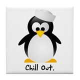 Chill Out Tile Coaster