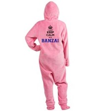 Unique Banzai Footed Pajamas