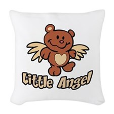 LITTLE ANGEL Woven Throw Pillow
