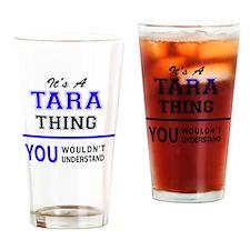 Cute Tara Drinking Glass