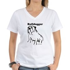 Bulldogger Logo Black Shirt