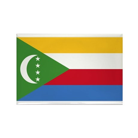 Comoros Flag Rectangle Magnet (10 pack)