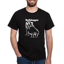Bulldogger Logo Blue T-Shirt
