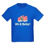 26.2 Baby Marathon Kids Royal Blue T-Shirt