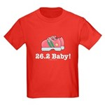 26.2 Baby Marathon Kids Red T-Shirt