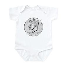 Kennedy Half-Dollar Infant Bodysuit