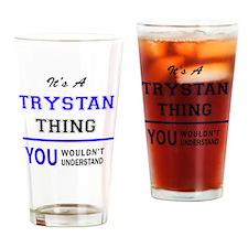 Cute Trystan Drinking Glass