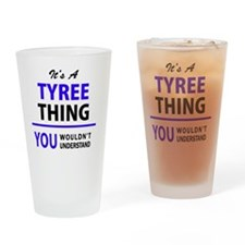 Unique Tyree Drinking Glass