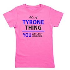 Cute Tyrone Girl's Tee