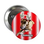 "Reindog 2.25"" Button (100 pack)"