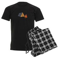 TENT AND CAMPFIRE Pajamas