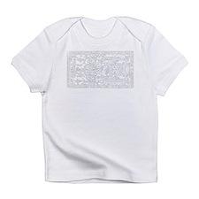 Palenque Ancient Astronaut UFO Whit Infant T-Shirt