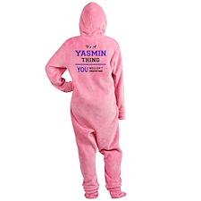 Cute Yasmine Footed Pajamas