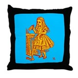 Drink Me! Throw Pillow
