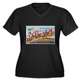 Bakersfield California Greetings (Front) Women's P
