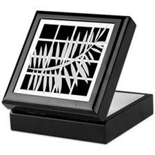 Black & White Basics Keepsake Box