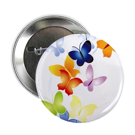 "Butterfly Cluster 2.25"" Button (100 pack)"