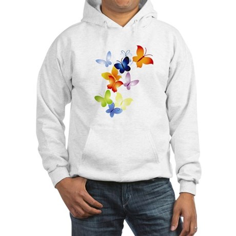 Butterfly Cluster Hooded Sweatshirt