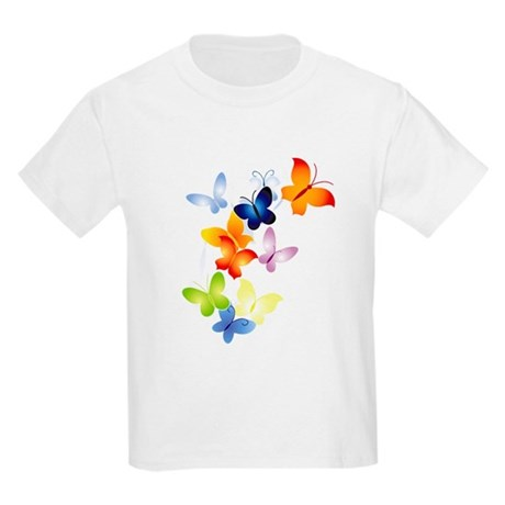 Butterfly Cluster Kids Light T-Shirt