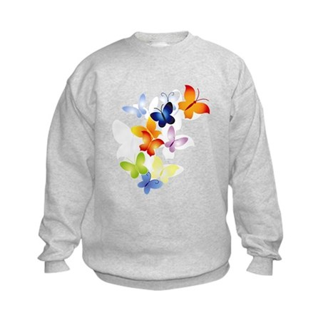 Butterfly Cluster Kids Sweatshirt