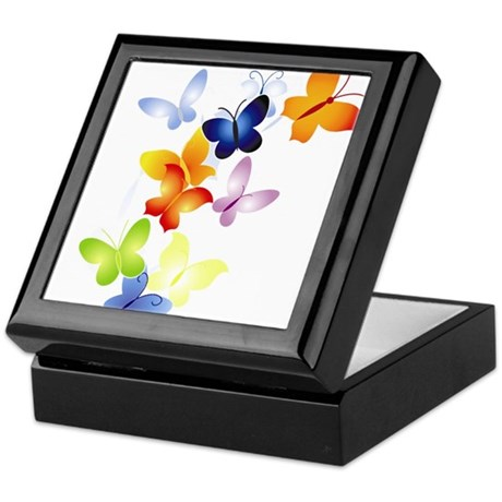 Butterfly Cluster Keepsake Box
