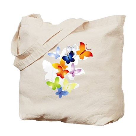 Butterfly Cluster Tote Bag