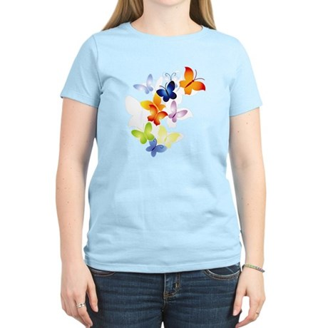 Butterfly Cluster Women's Light T-Shirt