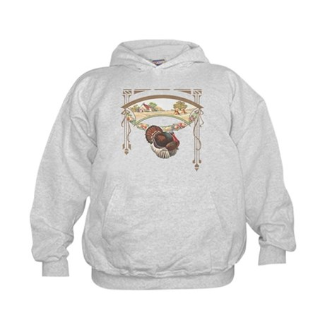 Thanksgiving Turkey Kids Hoodie