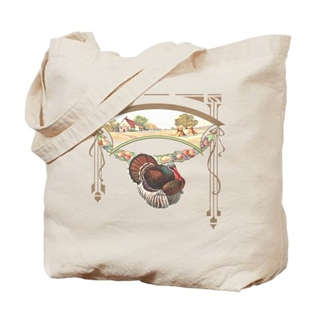 Thanksgiving Turkey Tote Bag