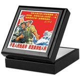 Yankee Go Home Keepsake Box
