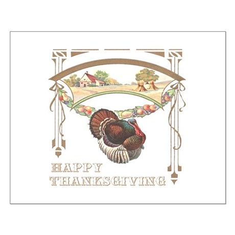 Thanksgiving Turkey Small Poster