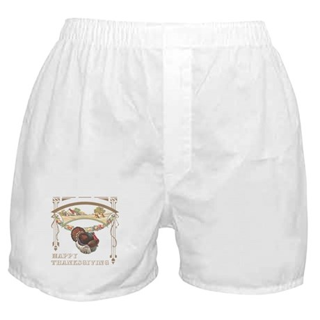 Thanksgiving Turkey Boxer Shorts