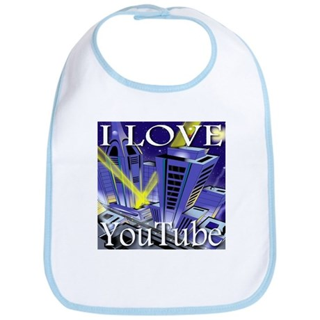 I Love YouTube Metropolis Spo Bib