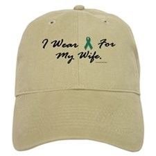 Wear Teal For My Wife 1 Baseball Cap