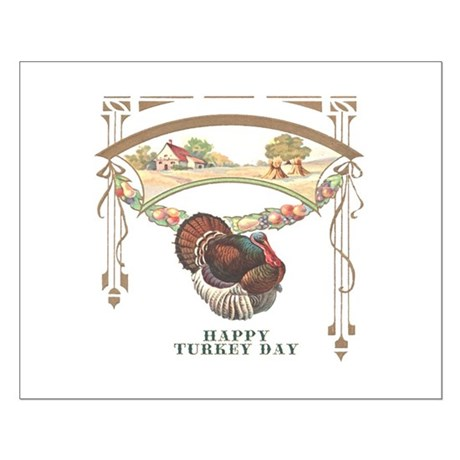 Turkey Day Small Poster