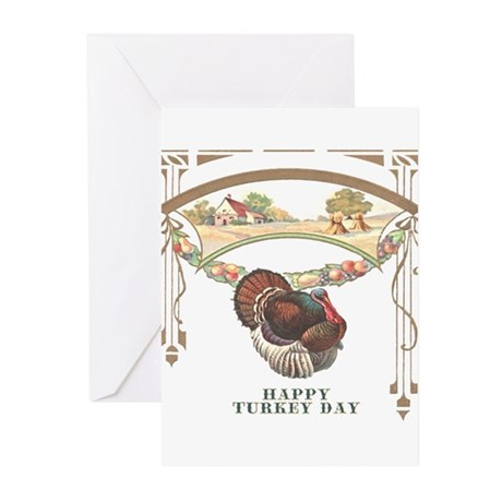 Turkey Day Greeting Cards (Pk of 10)