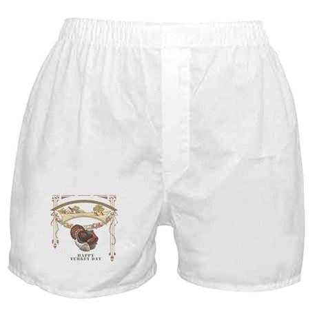 Turkey Day Boxer Shorts