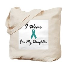 Wear Teal For My Daughter 1 Tote Bag